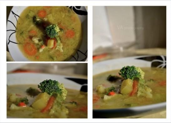 Супа со брокули- рецепт на Ивана Јаневска