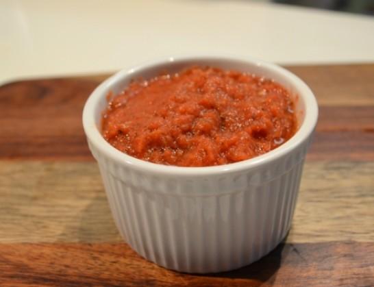 Маринара од домати и црвени бабури